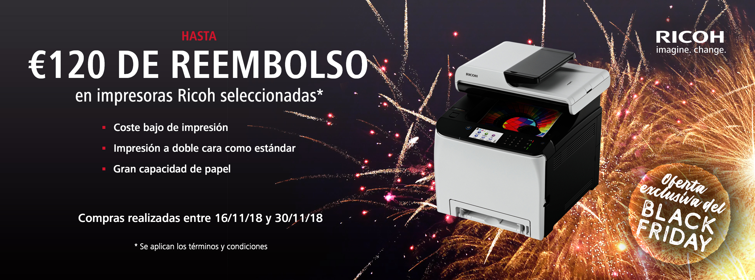 Ricoh Black Friday Accelerator Promotion - ES