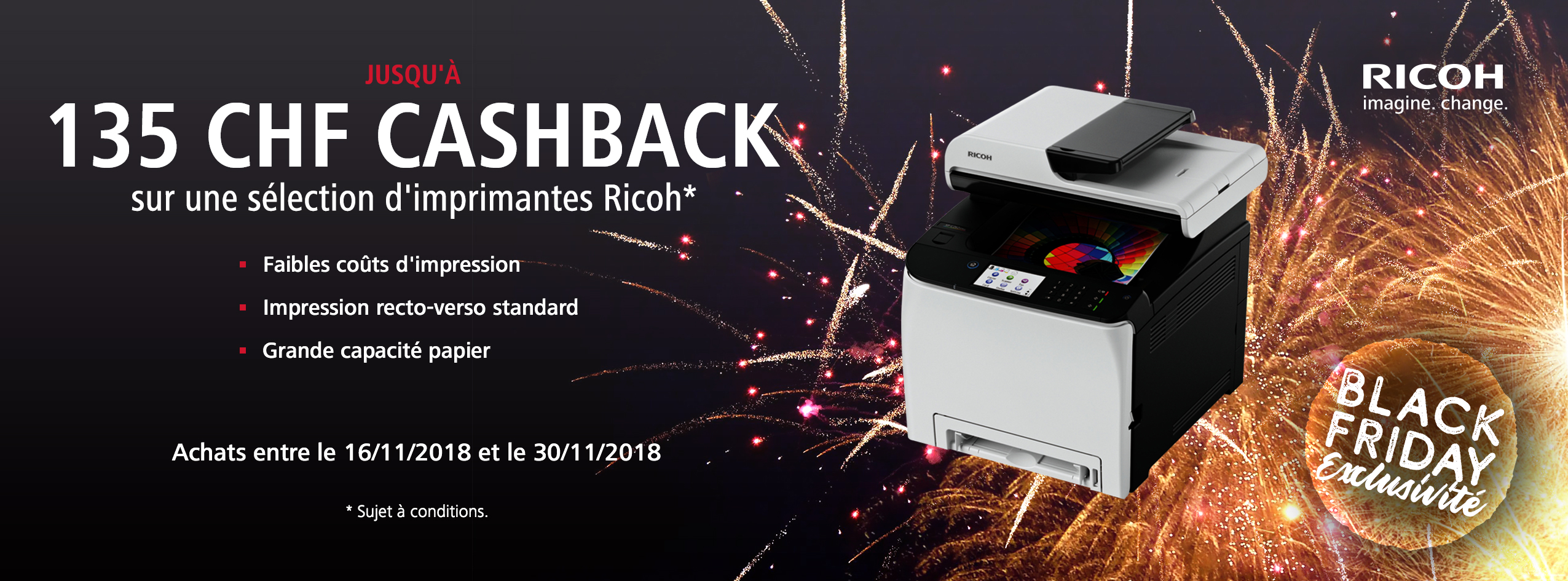 Ricoh Black Friday Accelerator Promotion - CH