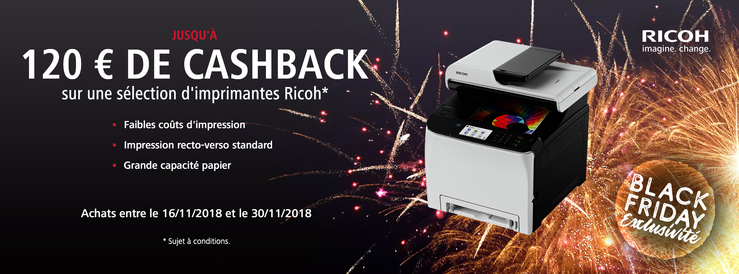 Ricoh Black Friday Accelerator Promotion - FR