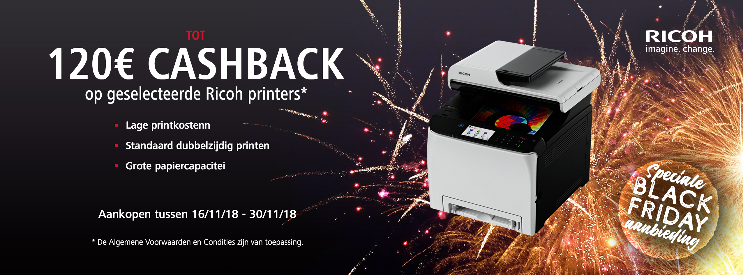 Ricoh Black Friday Accelerator Promotion - NL