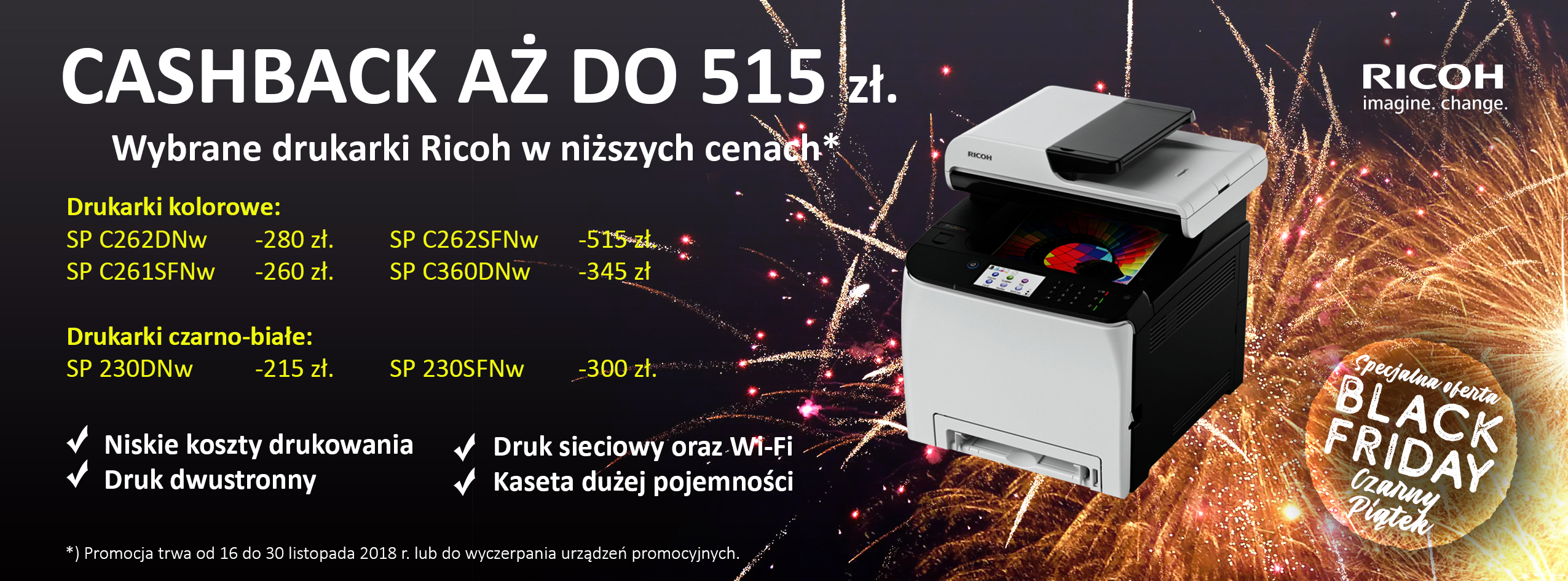 Ricoh Black Friday Accelerator Promotion - PL